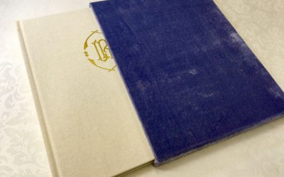 A Beautiful Custom Book With a Velvet Slipcase